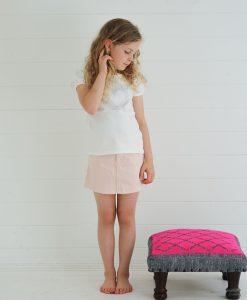 rose pink a link skirt