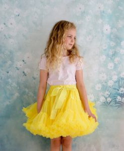 Sunshine yellow tutu pettiskirt