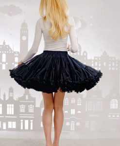 Black pettiskirt