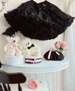 Black tutu pettiskirt