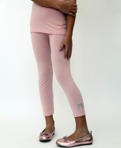 Rose Pink Leggings & Wings