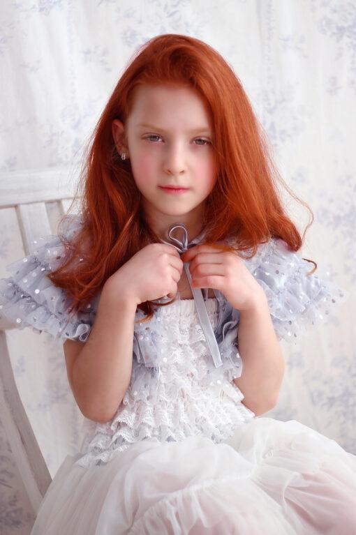 """Amabelle"" Off-White Fairy Dress"