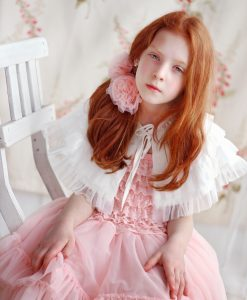 """Amabelle"" Rose Pink Fairy Dress 3"