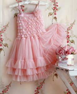 """Amabelle"" Rose Pink Fairy Dress"