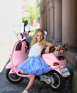 """Amabelle"" Light Blue Tutu Pettiskirt"