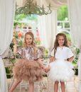 """Amabelle"" Blush Glamorous Sequin Dress 2"