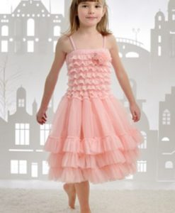 """Amabelle"" Rose Pink Fairy Dress 5"