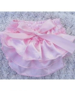 Baby Pink Satin Bloomer