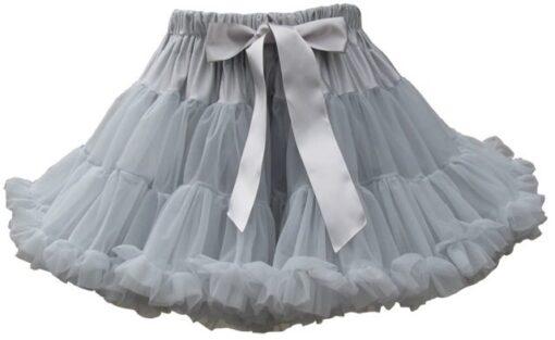 """Amabelle"" Silver Grey Tutu Pettiskirt"