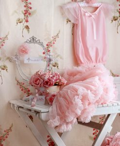 Rose pink top and pettiskirt