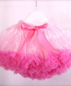 pink and baby pink pettiskirt