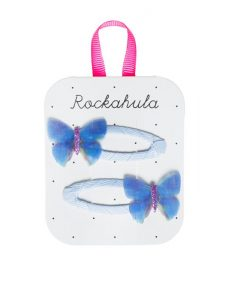Rockahula kids Blue butterfly clips