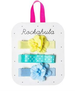 Rochahula Blue flower grossgran clips